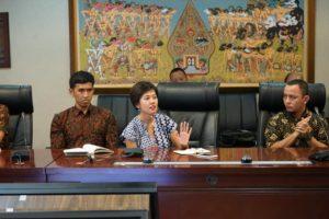 Koordinator Task Force Into The Light Indonesia, Venny Asyita, di Kantor Staf Presiden Republik Indonesia, Selasa (26/6).