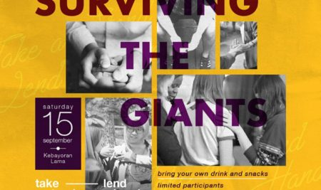 """Surviving the Giants"" – A Sharing Stories Session"