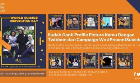 Tunjukkan Dukunganmu Terhadap Pencegahan Bunuh Diri di Indonesia! Begini Caranya…