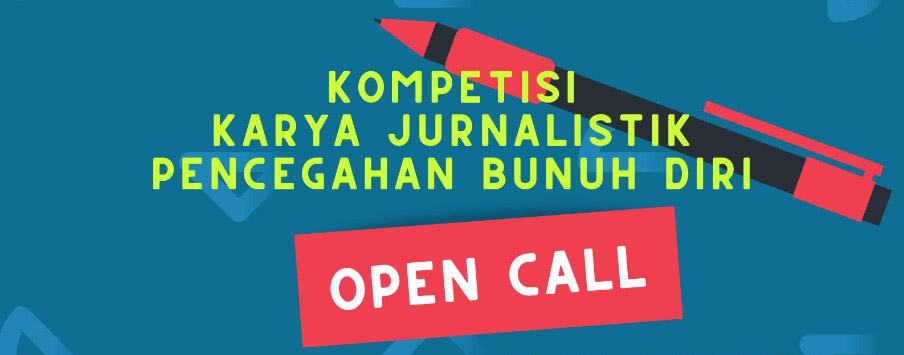 Kompetisi Penulisan Berita Jurnalistik Pencegahan Bunuh Diri - Open Call