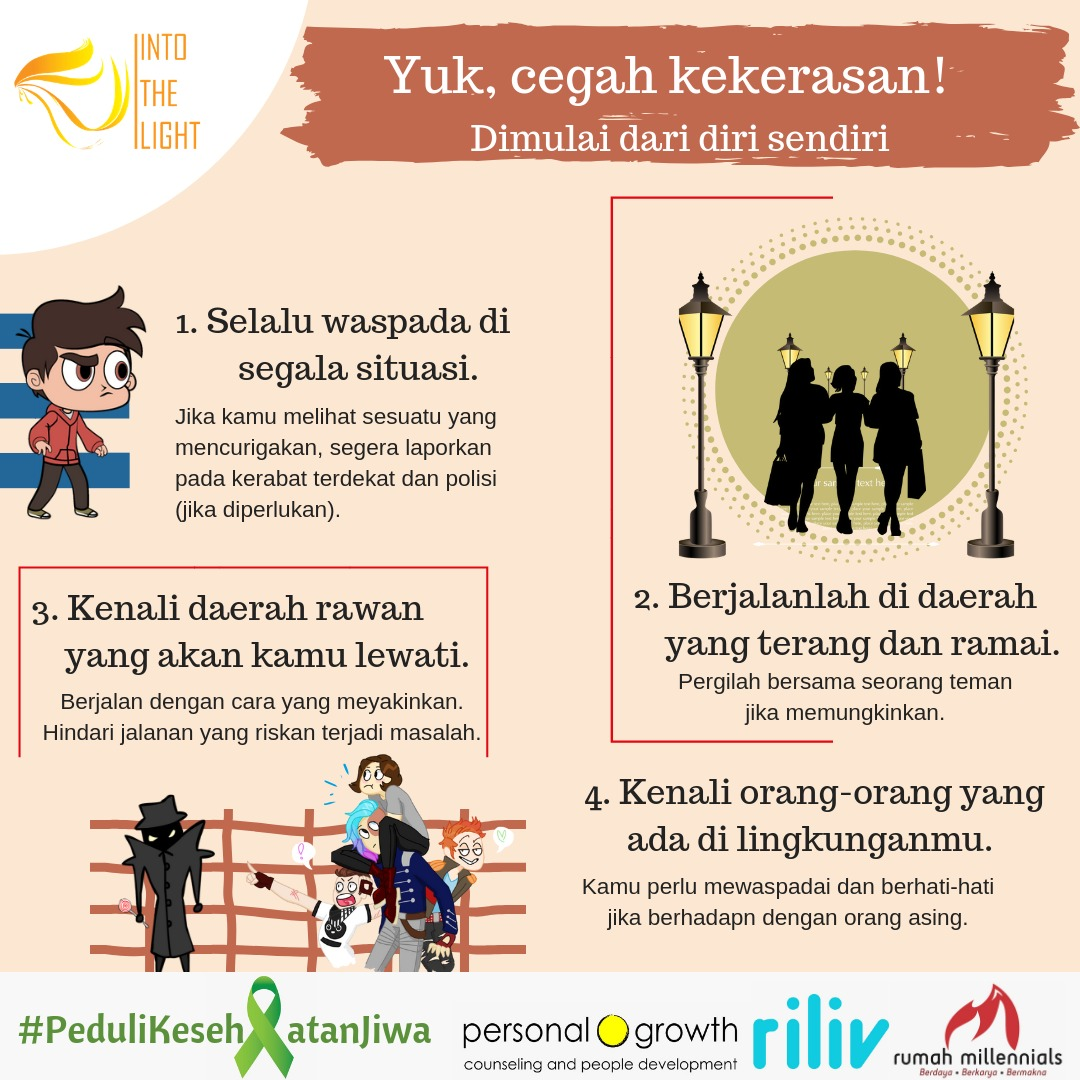 Tag World Mental Health Day Into The Light Indonesia