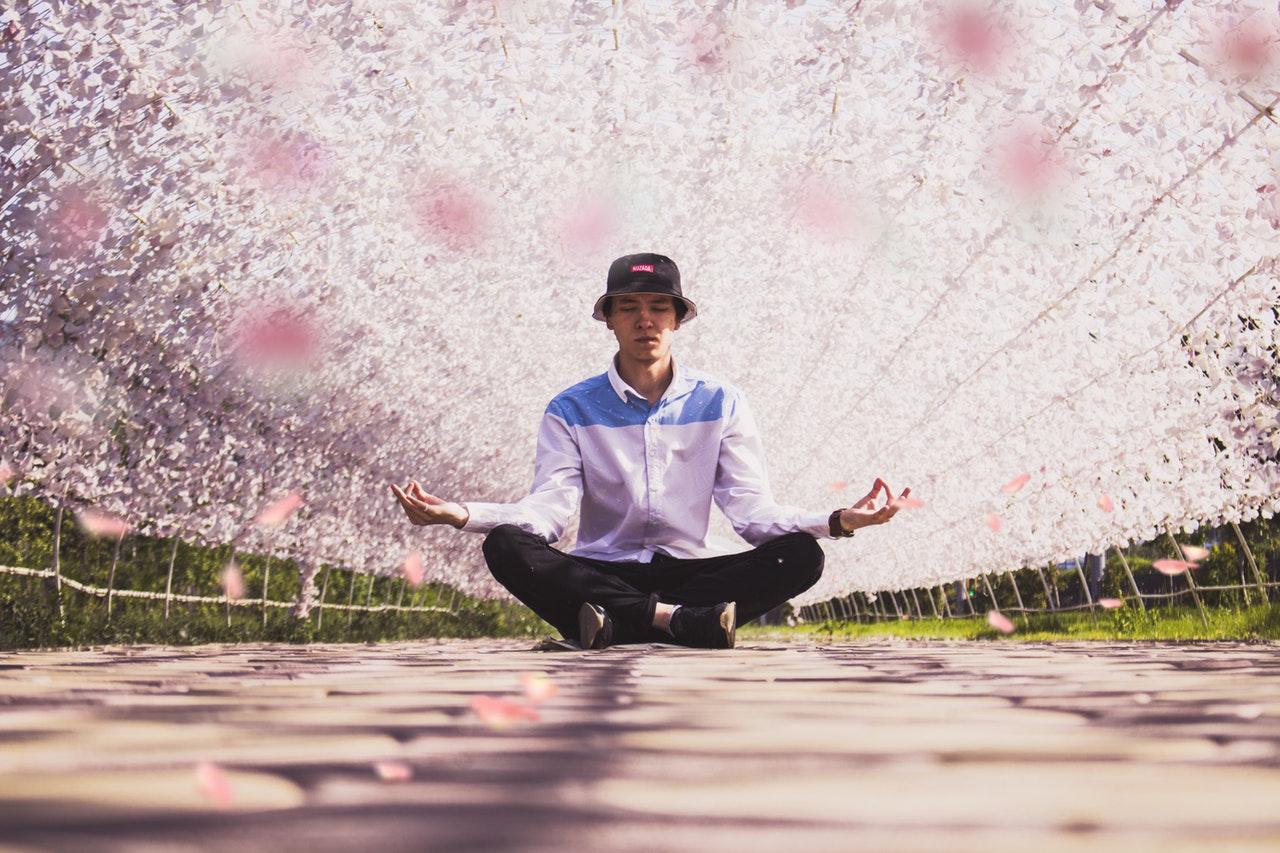 male meditation