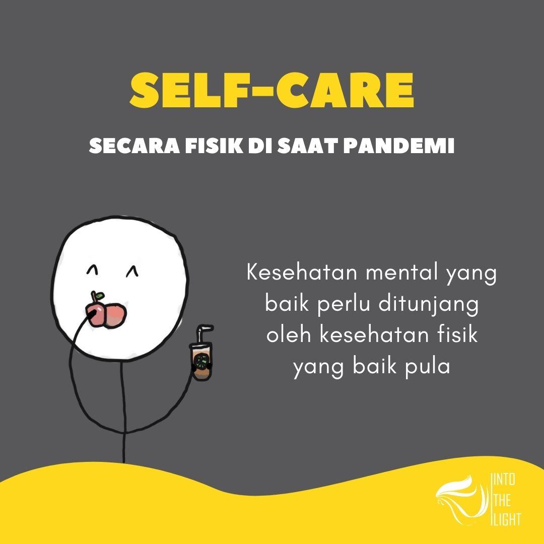self-care secara fisik pandemi 1