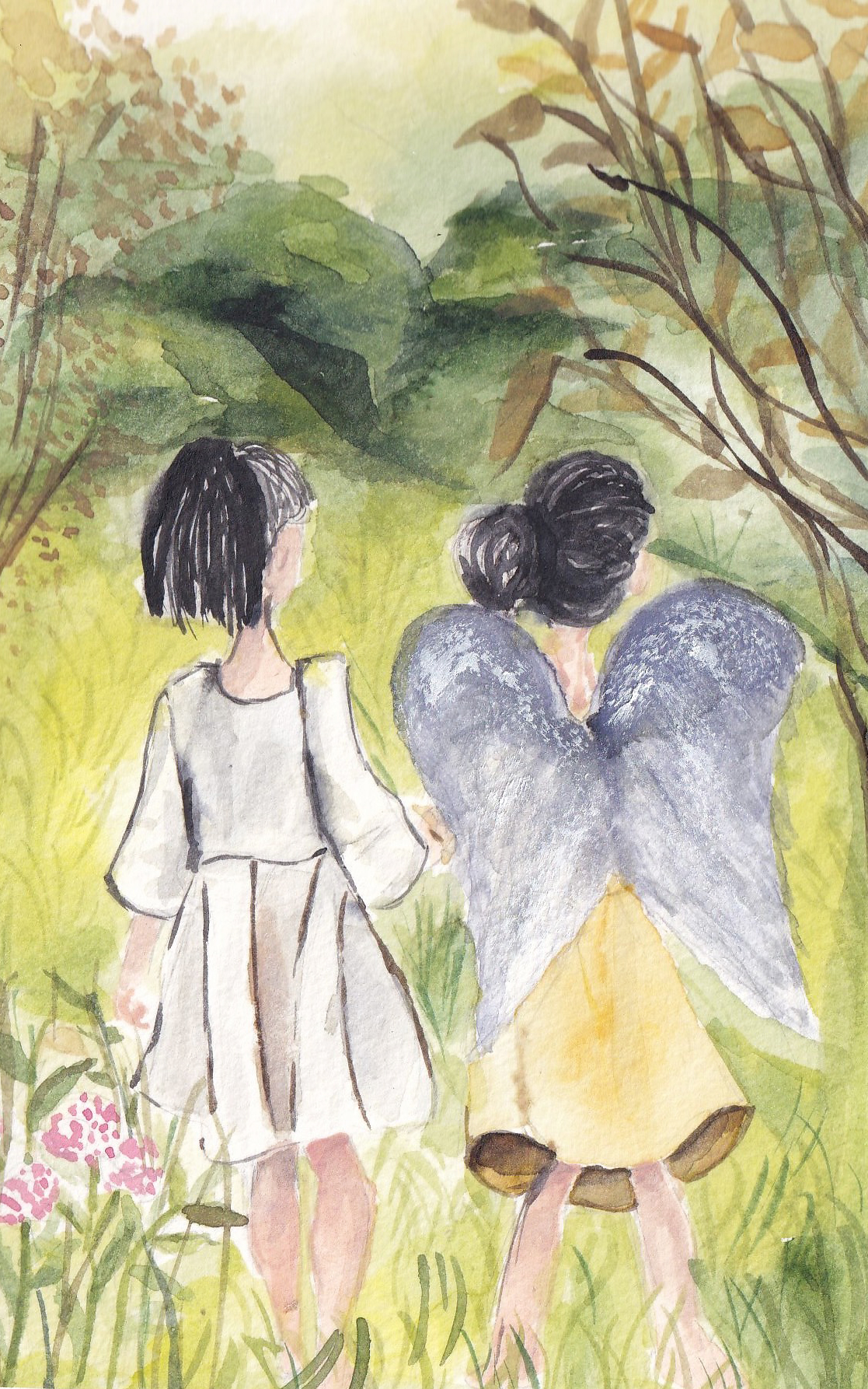 Safira Ryanatami - Angel between the grief
